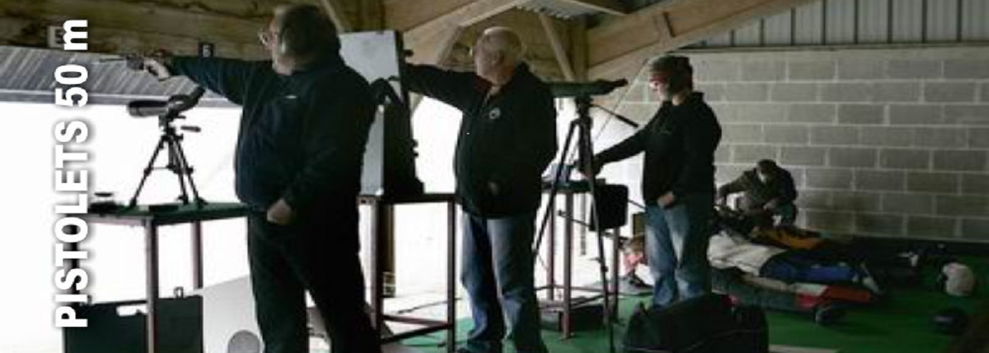 Le pistolet 50 mètres