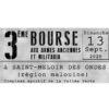 Bourse aux armes anciennes et militaria, le 13/09/2020 à SAINT MELOIR des ONDES (35).